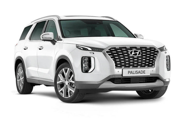 New Hyundai Palisade Elite Cardiff, 2021 Hyundai Palisade LX2.V2 Elite White Cream 8 Speed Automatic Wagon