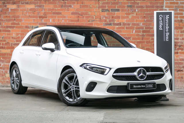 Certified Pre-Owned Mercedes-Benz A-Class W177 800+050MY A180 DCT Berwick, 2020 Mercedes-Benz A-Class W177 800+050MY A180 DCT Polar White 7 Speed Sports Automatic Dual Clutch