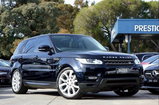 Used Land Rover Range Rover Sport L494 16MY SE Balwyn, 2016 Land Rover Range Rover Sport L494 16MY SE Black 8 Speed Sports Automatic Wagon