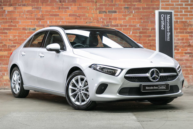 Certified Pre-Owned Mercedes-Benz A-Class V177 801+051MY A180 DCT Berwick, 2021 Mercedes-Benz A-Class V177 801+051MY A180 DCT Iridium Silver 7 Speed