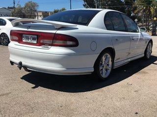 1999 Holden Commodore VT II SS White 4 Speed Automatic Sedan.