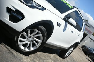 2017 Land Rover Discovery Sport LC MY17 TD4 180 HSE 5 Seat White 9 Speed Automatic Wagon.