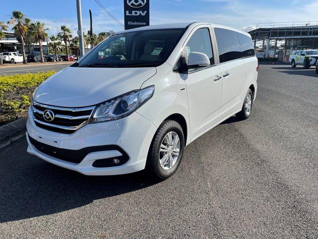 New LDV G10 SV7A Gladstone, 2021 LDV G10 SV7A Blanc White 6 Speed Sports Automatic Wagon