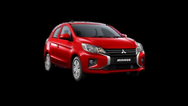 New Mitsubishi Mirage LB MY22 ES Hamilton, 2021 Mitsubishi Mirage LB MY22 ES Red Planet 1 Speed Constant Variable Hatchback