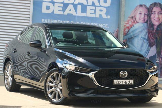 Used Mazda 3 BP G20 Evolve Vision Rosebery, 2019 Mazda 3 BP G20 Evolve Vision Black Manual Sedan
