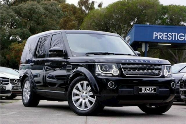 Used Land Rover Discovery Series 4 L319 MY16 TDV6 Balwyn, 2015 Land Rover Discovery Series 4 L319 MY16 TDV6 Black 8 Speed Sports Automatic Wagon
