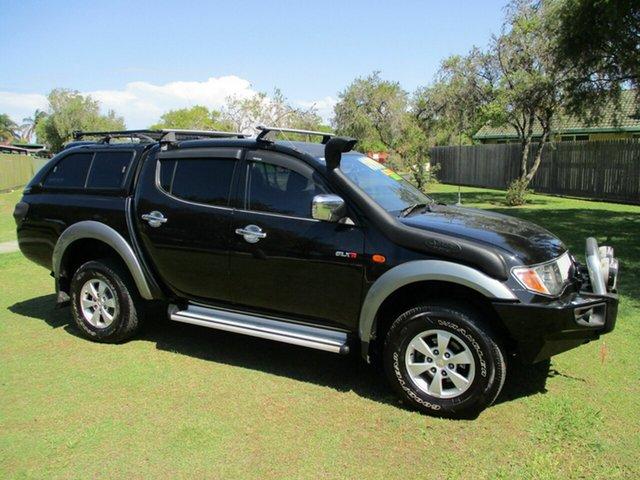 Used Mitsubishi Triton ML MY07 GLX-R Double Cab Kippa-Ring, 2007 Mitsubishi Triton ML MY07 GLX-R Double Cab Black 5 Speed Manual Utility