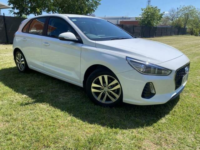 Used Hyundai i30 PD2 MY19 Active Wangaratta, 2019 Hyundai i30 PD2 MY19 Active White 6 Speed Automatic Hatchback