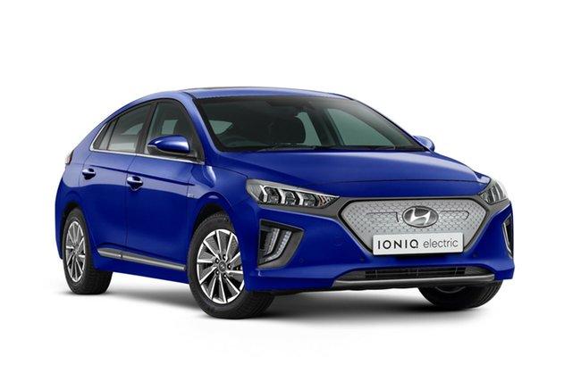 New Hyundai Ioniq AE.V4 MY22 electric Premium Nailsworth, 2021 Hyundai Ioniq AE.V4 MY22 electric Premium Intense Blue 1 Speed Reduction Gear Fastback