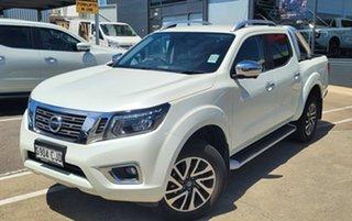 2020 Nissan Navara D23 S4 MY20 ST-X 4x2 White Diamond 7 Speed Sports Automatic Utility.