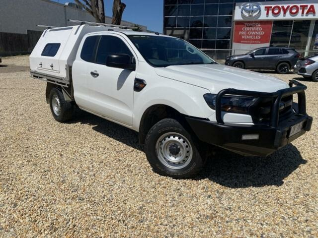 Used Ford Ranger PX MkII XL 3.2 (4x4) Wangaratta, 2016 Ford Ranger PX MkII XL 3.2 (4x4) White 6 Speed Automatic Cab Chassis