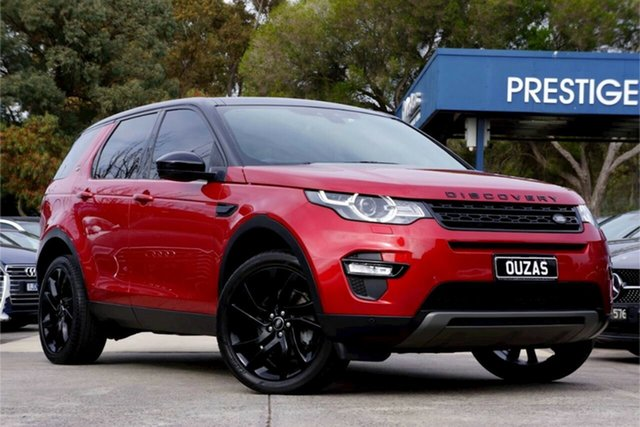 Used Land Rover Discovery Sport L550 17MY HSE Balwyn, 2017 Land Rover Discovery Sport L550 17MY HSE Red 9 Speed Sports Automatic Wagon