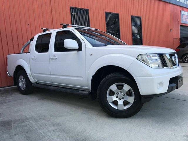 Used Nissan Navara D40 MY11 ST Molendinar, 2011 Nissan Navara D40 MY11 ST White 5 Speed Automatic Utility