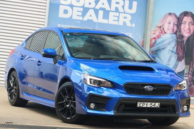 Used Subaru WRX MY21 Premium (AWD) Rosebery, 2020 Subaru WRX MY21 Premium (AWD) WR Blue 6 Speed Manual Sedan