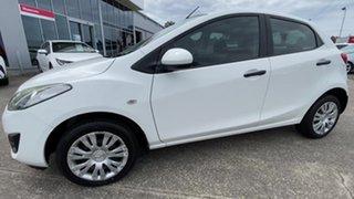 2010 Mazda 2 DE10Y1 Neo White 4 Speed Automatic Hatchback