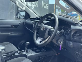 2019 Toyota Hilux TGN121R Workmate Double Cab 4x2 White 6 Speed Sports Automatic Utility