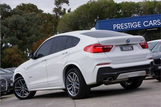 2015 BMW X4 F26 xDrive20d Coupe Steptronic White 8 Speed Automatic Wagon.