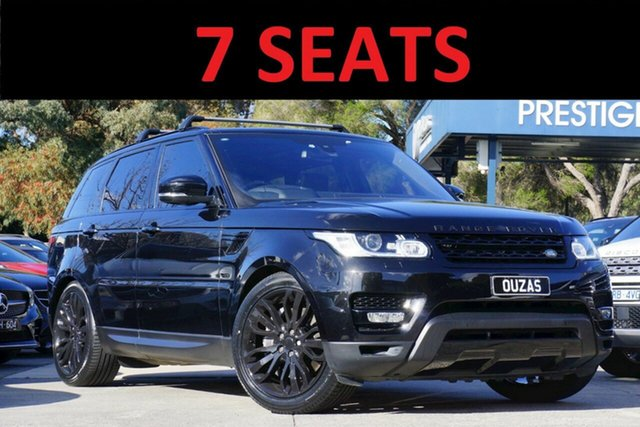 Used Land Rover Range Rover Sport L494 16.5MY HSE Balwyn, 2016 Land Rover Range Rover Sport L494 16.5MY HSE Black 8 Speed Sports Automatic Wagon