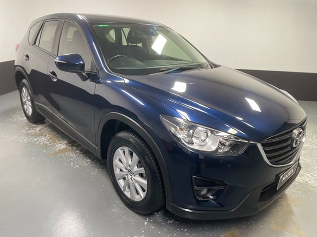Used Mazda CX-5 KE1072 Maxx SKYACTIV-Drive FWD Rutherford, 2017 Mazda CX-5 KE1072 Maxx SKYACTIV-Drive FWD Blue 6 Speed Sports Automatic Wagon