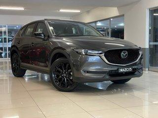2021 Mazda CX-5 KF4WLA GT SKYACTIV-Drive i-ACTIV AWD SP Grey 6 Speed Sports Automatic Wagon.