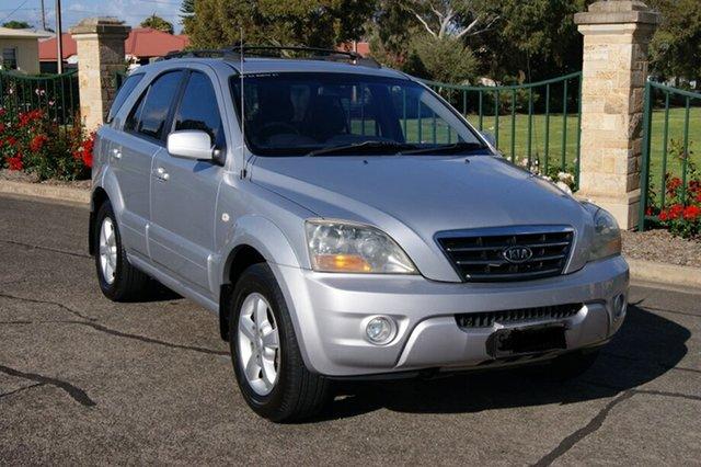 Used Kia Sorento BL EX Blair Athol, 2007 Kia Sorento BL EX Silver 5 Speed Automatic Tiptronic Wagon