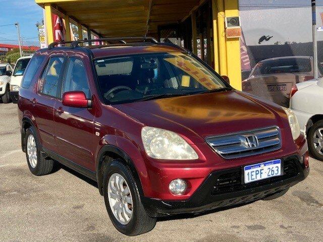Used Honda CR-V RD MY2005 Sport 4WD Wangara, 2005 Honda CR-V RD MY2005 Sport 4WD White 5 Speed Automatic Wagon