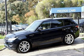 2016 Land Rover Range Rover Sport L494 16MY SE Black 8 Speed Sports Automatic Wagon