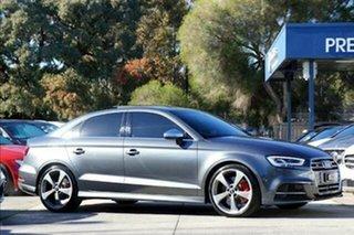 2020 Audi S3 8V MY20 S Tronic Quattro Grey 7 Speed Sports Automatic Dual Clutch Sedan.