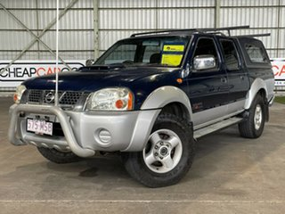 2009 Nissan Navara D22 MY2008 ST-R Blue 5 Speed Manual Utility.