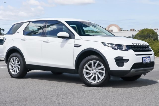 Used Land Rover Discovery Sport L550 18MY TD4 110kW SE Wangara, 2017 Land Rover Discovery Sport L550 18MY TD4 110kW SE White 9 Speed Sports Automatic Wagon