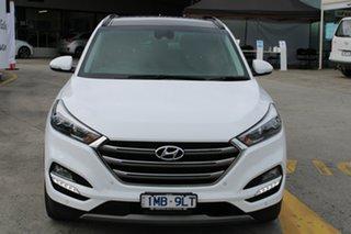2018 Hyundai Tucson TLE2 MY18 Highlander AWD White 6 Speed Sports Automatic Wagon.