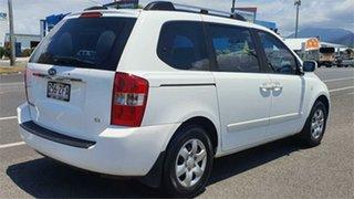 2007 Kia Carnival VQ MY07 EX White 4 Speed Sports Automatic Wagon