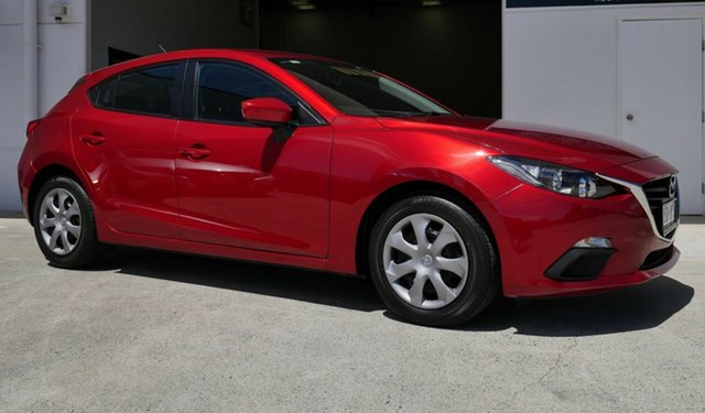 Used Mazda 3 BM5478 Neo SKYACTIV-Drive Capalaba, 2014 Mazda 3 BM5478 Neo SKYACTIV-Drive Red 6 Speed Sports Automatic Hatchback