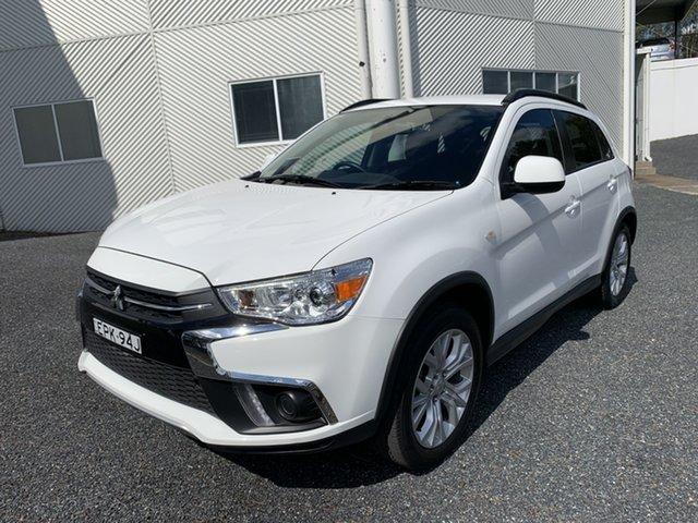 Used Mitsubishi ASX XC MY19 ES 2WD Maitland, 2019 Mitsubishi ASX XC MY19 ES 2WD White 1 Speed Constant Variable Wagon