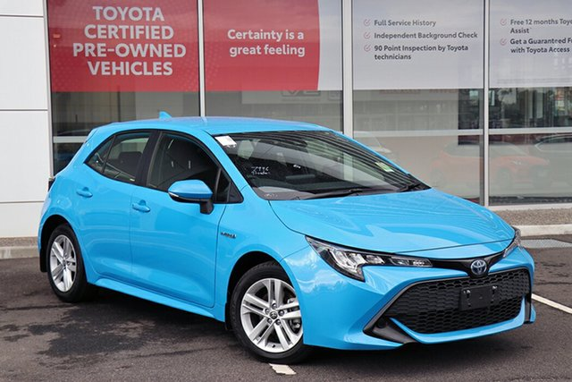 Pre-Owned Toyota Corolla ZWE211R Ascent Sport E-CVT Hybrid South Morang, 2020 Toyota Corolla ZWE211R Ascent Sport E-CVT Hybrid Eclectic Blue 10 Speed Constant Variable
