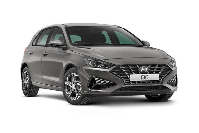 New Hyundai i30 Cardiff, 2021 Hyundai i30 PD.V4 i30 Fluid Metal 6 Speed Automatic Hatchback