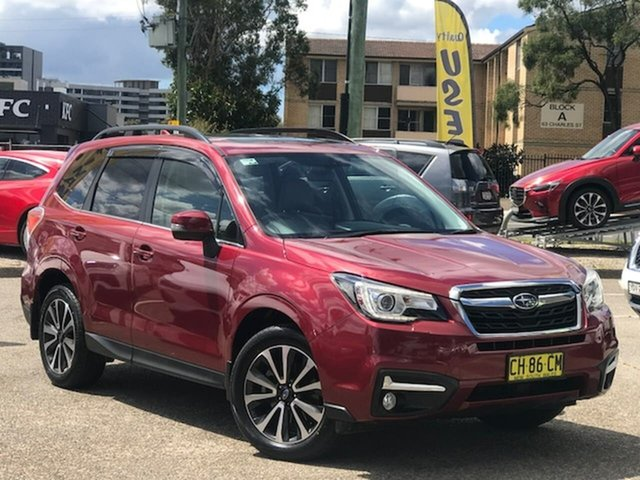 Used Subaru Forester S4 MY17 2.0D-S CVT AWD Liverpool, 2016 Subaru Forester S4 MY17 2.0D-S CVT AWD Red 7 Speed Constant Variable Wagon