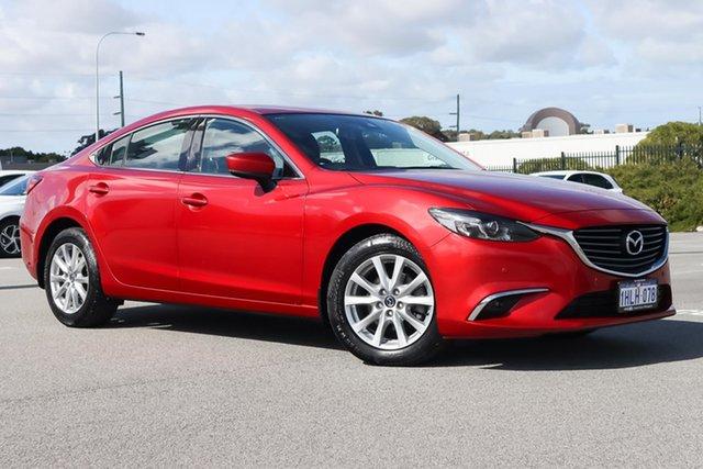 Used Mazda 6 GL1021 Touring SKYACTIV-Drive Wangara, 2017 Mazda 6 GL1021 Touring SKYACTIV-Drive Red 6 Speed Sports Automatic Sedan