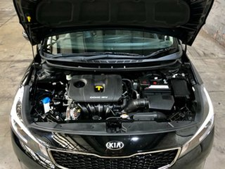 2016 Kia Cerato YD MY17 S Black 6 Speed Sports Automatic Hatchback