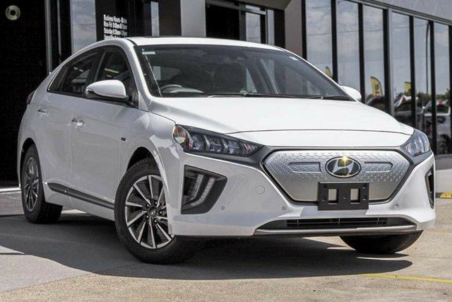 New Hyundai Ioniq AE.V4 MY22 electric Premium Nailsworth, 2021 Hyundai Ioniq AE.V4 MY22 electric Premium Polar White 1 Speed Reduction Gear Fastback
