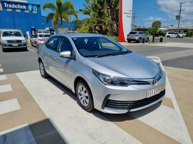 Pre-Owned Toyota Corolla ZRE172R MY17 Ascent Gladstone, 2018 Toyota Corolla ZRE172R MY17 Ascent Silver Ash 7 Speed CVT Auto Sequential Sedan