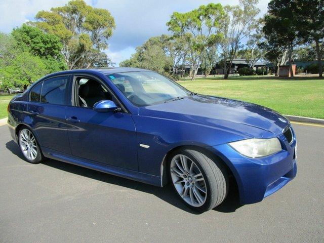 Used BMW 320i E90 Executive Glenelg, 2005 BMW 320i E90 Executive Blue 6 Speed Auto Steptronic Sedan