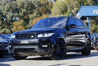 2016 Land Rover Range Rover Sport L494 16.5MY HSE Black 8 Speed Sports Automatic Wagon