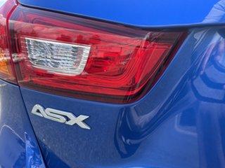 2016 Mitsubishi ASX XB MY15.5 LS 2WD Lightning Blue 6 Speed Constant Variable Wagon