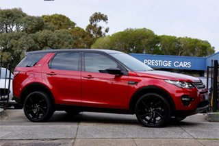 2017 Land Rover Discovery Sport L550 17MY HSE Red 9 Speed Sports Automatic Wagon.