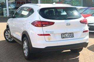 2018 Hyundai Tucson TL3 MY19 Active X (FWD) White 6 Speed Automatic Wagon.