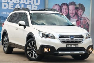 2016 Subaru Outback MY16 2.0D Premium AWD White Continuous Variable Wagon.
