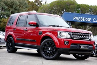 2015 Land Rover Discovery Series 4 L319 MY16 TDV6 Firenze Red 8 Speed Sports Automatic Wagon