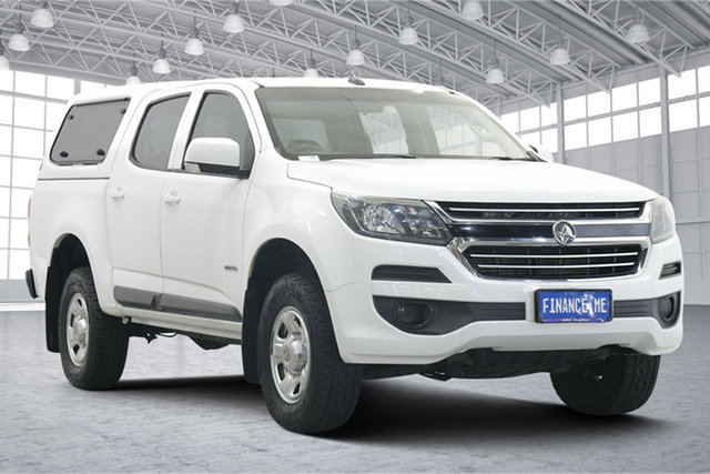 Used Holden Colorado RG MY17 LS Pickup Crew Cab 4x2 Victoria Park, 2017 Holden Colorado RG MY17 LS Pickup Crew Cab 4x2 White 6 Speed Sports Automatic Utility