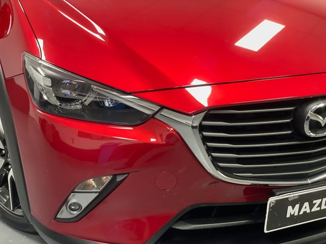 Used Mazda CX-3 DK2W7A sTouring SKYACTIV-Drive Hamilton, 2016 Mazda CX-3 DK2W7A sTouring SKYACTIV-Drive Red 6 Speed Sports Automatic Wagon